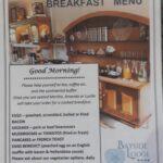 Bayside new breakfast menu