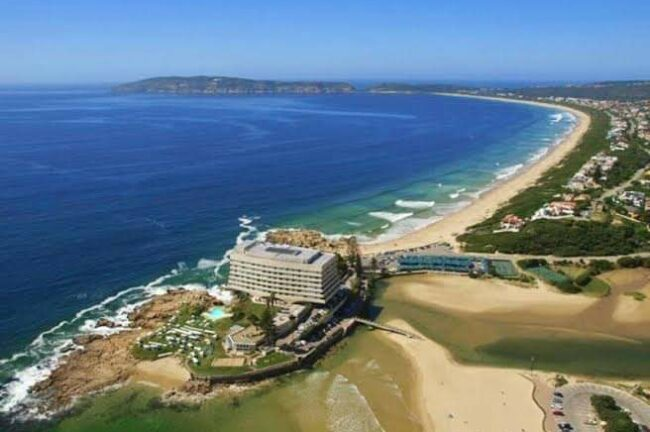 Plett aerial photo - travel South Africa